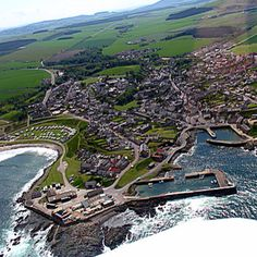 Portsoy, Scotland  Situated between Banff and Buckie, Portsoy lies on the Moray Firth Coast in the north east of Abeerdenshire. A traditional fishing village, Portsoy has been wonderfully restored and is a joy to visit simply for its wonderful atmosphere.