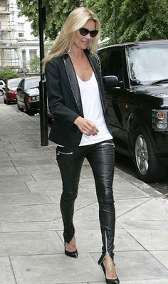 leather pants... love....