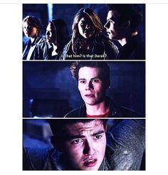 Teen Wolf Season 4 - Malia, Stiles, and Derek