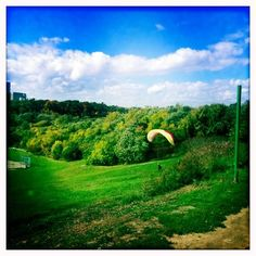 Gliding attempts in Riverdale Park East, Toronto Toronto Canada, Golf Courses, Park, Parks