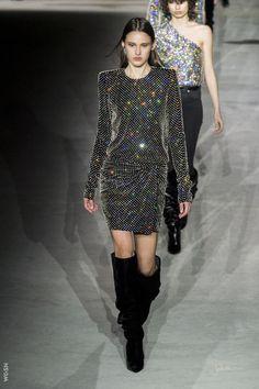 Saint Laurent / dream dress --catwalk winter 2017