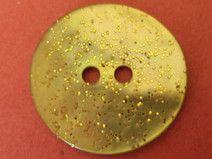 9 PERLMUTTKNÖPFE gelb 18mm (6153-2)Knöpfe Perlmutt