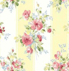 Interior Place - Yellow Gold MT40003 Floral Stripe Wallpaper, $28.50 (http://www.interiorplace.com/yellow-gold-mt40003-floral-stripe-wallpaper/)