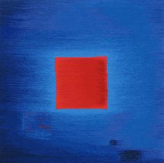 Red on Blue by HILLU LIEBELT | British Tapestry Group
