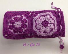 Vê O Que Fiz Crochet Handbags, Coin Purse, Wallet, Purses, Facebook, Fashion, Crochet Bags, Pocket Wallet, Handbags