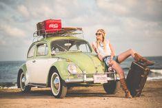 Who misses summertime? 🌞  🚗 Volkswagen Type I 📍 Nahariyya, Israel 🇮🇱 📸 Amos Bar-Zeev #️⃣ #VW #AutomotiveHistory #classiccar