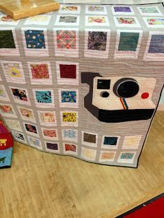 Image result for polaroid quilt