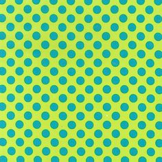 Michael Miller Fabric Ta Dot in Calypso by SouthernSeamsFabrics, $7.50