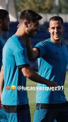 Soccer Players, Football Soccer, Lucas Vazquez, Real Madrid Players, I Work Hard, Majorca, Big Love, Chef Jackets, Husband