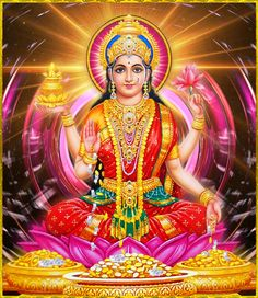 The festival of lights, Diwali 2020 is going to be a boom time. Get Perpetual Wealth Flow, Materialistic Comforts & Triumph from Diwali puja & other rituals. Divine Goddess, Goddess Lakshmi, Divine Mother, Mother Goddess, Bhagavad Gita, Lakshmi Images, Lakshmi Photos, Krishna Images, Lord Murugan