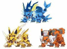 Pokemon + zoid