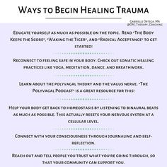 Here are some practical tools to start self-healing from trauma today Mental And Emotional Health, Emotional Healing, Self Healing, Mental Health Awareness, Inner Child Healing, Healing Heart, Radical Acceptance, Trauma Therapy, Narcissistic Abuse Recovery