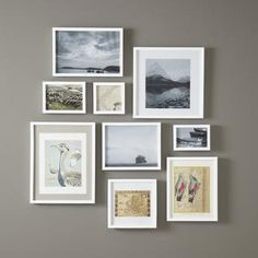 """Memento Gallery Picture Frame Size: 8"""" H x 8"""" W, Finish: White $15.00 by Wayfair"""
