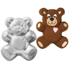 Teddy Bear Cake Pan Everybody just loves teddy bears. This cutie will be busy all year '''–round with birthdays, school parties, baby showers and baby's first birthday. No time for hibernating with all these fun events on the agenda.