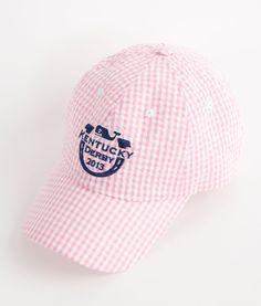 Mens Hats And Accessories Horseshoe Logo Seersucker Hat For Kentucky Derby Vineyard Vines