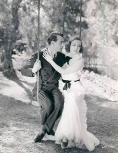 """Gary Cooper and Joan Crawford in """"Today We Live"""""""