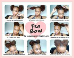 Fro Bow! So cute!