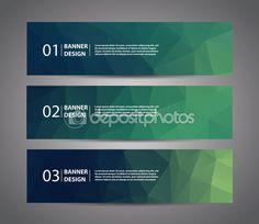 Banner abstracto — Vector de stock