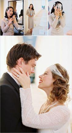 Roaring 20's vintage wedding ideas. Captured By: Jeff Brummett Visuals #weddingchicks http://www.weddingchicks.com/2014/09/03/1920s-vintage-wedding/