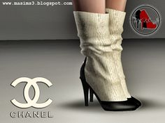Chanel Spring-Summer 2014 3D Pumps by MrAntonieddu - Sims 3 Downloads CC Caboodle