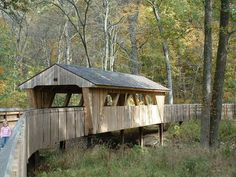 covered bridges of ohio | Covered Bridge Wildwood Park