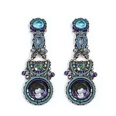 Wild Orchid earrings from Ayala Bar Jewelry