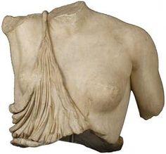 Torso di Amazzone ferita,Scultura Copia romana da originale greco della seconda…