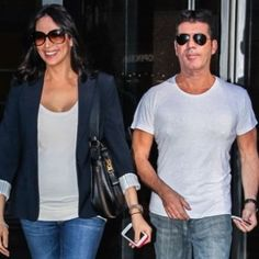 Simon Cowell and Lauren Silverman, Age Difference Age Difference, Simon Cowell, American Idol, Celebrity Couples, Famous Faces, Record Producer, Different, Beauty And The Beast, Gap
