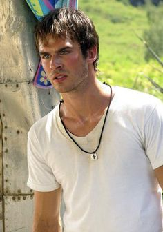 Ian as Boone - his character may have lacked humor but he was very passionate and expressive