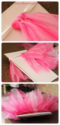 How to Make an Easy No Sew Tutu