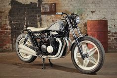 ϟ Hell Kustom ϟ: Honda CB650 1982 By Retro Wrench