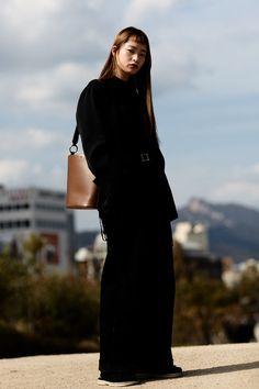Street fashion: Seoul Fashion Week wiosna-lato 2018