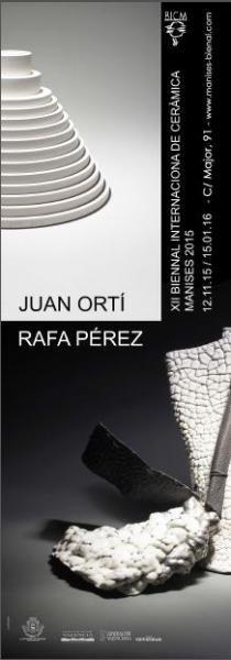 Exposición Juan Ortiz y Rafa Pérez. Manises 2015