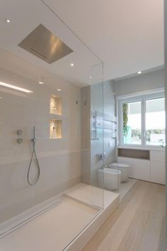 And if it was enough to change the living room… Continue Reading → Modern Luxury Bathroom, Bathroom Design Luxury, Modern Bathroom Design, Home Interior Design, Dream Bathrooms, Beautiful Bathrooms, Small Bathroom, White Bathroom, Bathroom Ideas