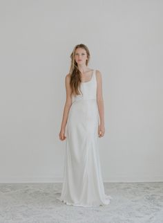 Starling - Silk slip dress - Style # TH2114 (2014 myra, bridal attire, dresses, gowns, myra callan bridal, starling, view all)   Dresses   Twigs & Honey ®, LLC