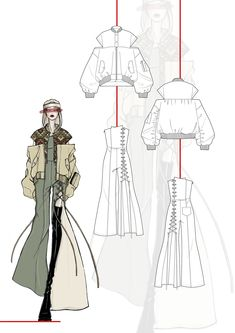 Fashion Illustration Portfolio, Fashion Portfolio Layout, Fashion Design Sketchbook, Illustration Mode, Fashion Illustration Dresses, Fashion Design Drawings, Illustrations, Fashion Model Sketch, Fashion Sketches