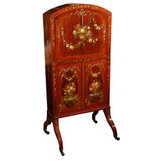 1stdibs.com | 19th c. English Satinwood Writing Desk