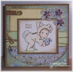Stampin'Pipers Magnolias: Happy Easter