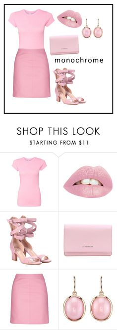 """Untitled #100"" by fashion-theatre ❤ liked on Polyvore featuring Valentino, Givenchy, Topshop and Irene Neuwirth"