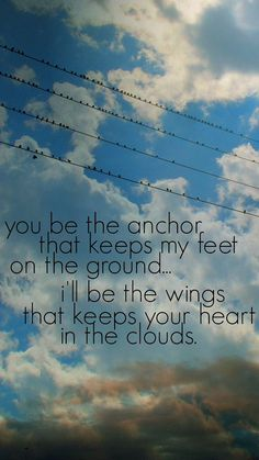 I'll Be The Wings Bird on a Wire  Print by GraceShinesDesigns