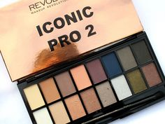 HaySparkle: Makeup Revolution Iconic Pro 2 Eyeshadow Palette, dupe for the second Lorac Pro palette