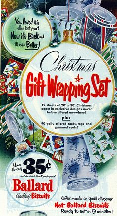 Fabulous mid-century Christmas wrapping paper designs (1951).* 1500 free paper dolls toys at Arielle Gabriels The International Paper Doll Society Christmas gift for Pinterest pals also free Asian paper dolls The China Adventures of Arielle Gabriel Merry Christmas to Pinterest users *