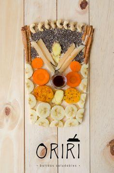 Nada como el banano, la zanahoria, el yacón, los higos, el banano, el jengible, la canela, los marañones, las semillas de chía y un toque de vainilla para darte pura fibra en tu día a día.  Batidos congelados listos para licuar y llevar a donde quieras. Sin conservantes, frescos, naturales y deliciosos. Semanalmente entregaremos en tu puerta 5 blends del sabor que elijas. ¡Tan sólo haz tu pedido y disfrútalos! 📲 317 7027247. Conoce nuestras combinaciones en www.oriri.co