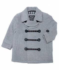 Toddler Boy Wool Marina Jacket   Oopsy daisy, it looks like the piece has sold out, but we're always adding new things to love on our site at hallmarkbaby.com!