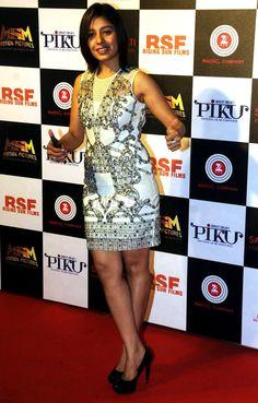 Sunidhi Chauhan at the success bash of Piku. #Bollywood #Fashion #Style #Beauty