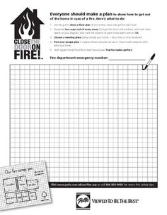 1000 images about fire safety on pinterest fire escape Home fire safety plan