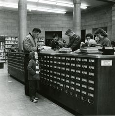 The Dewey Decimal System and Card Catalogs