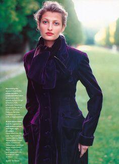 ☆ Tereza Maxova   Photography by Robert Erdmann   For Vogue Magazine UK   October 1993