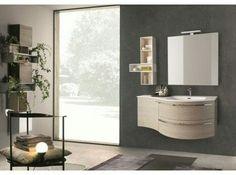 nice Idée décoration Salle de bain - Meuble salle de bain #meublesalledebainarrondi en bois ou laqué avec grand choi...