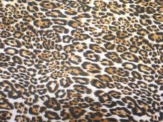 Leopard Spots Animal Print Summer Maxi DRESS by TheFabricShopUK, £4.50